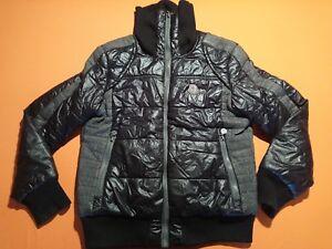 Moncler-Men-039-s-Goose-Down-Coat-Sz-S-Black-Jacket-Clothing-Wear