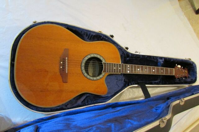 Ovation Celebrity CC057 Acoustic Electric Guitar Natural Finish Good Condition!!