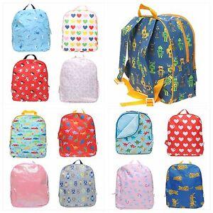 Image Is Loading Britt Kids Bag Backpack S M Daycare Preschool