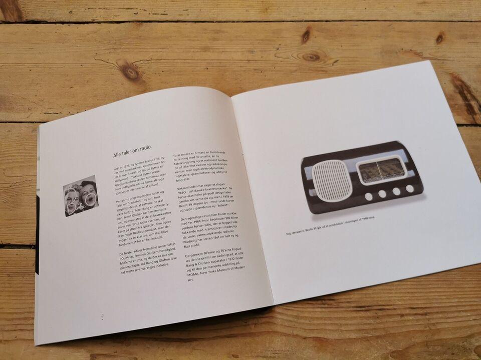 Andet , Bang & Olufsen, Originale B&O manualer