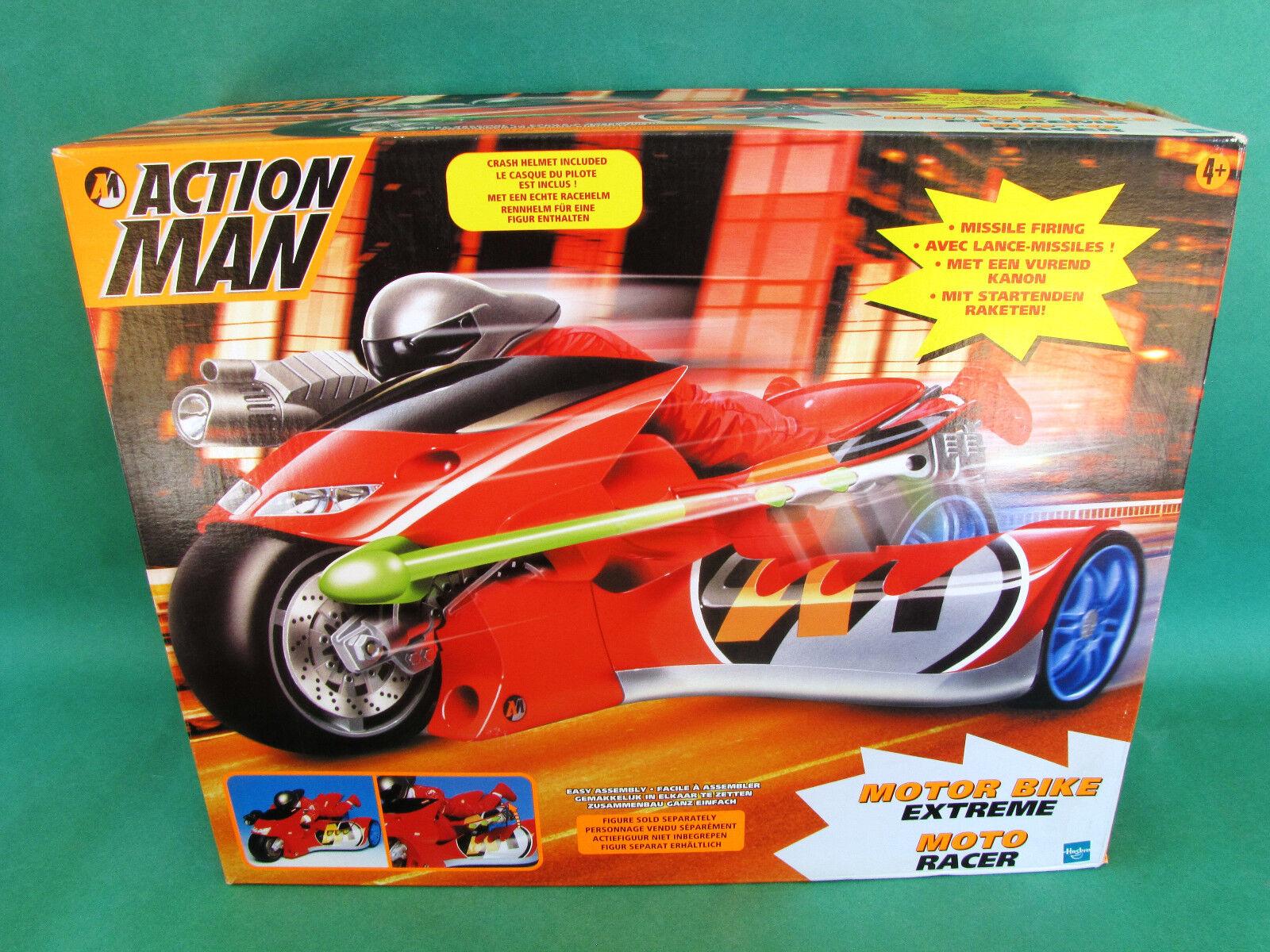 Original azione uomo Exteme Motor bicicletta MISB Hasbro 2000