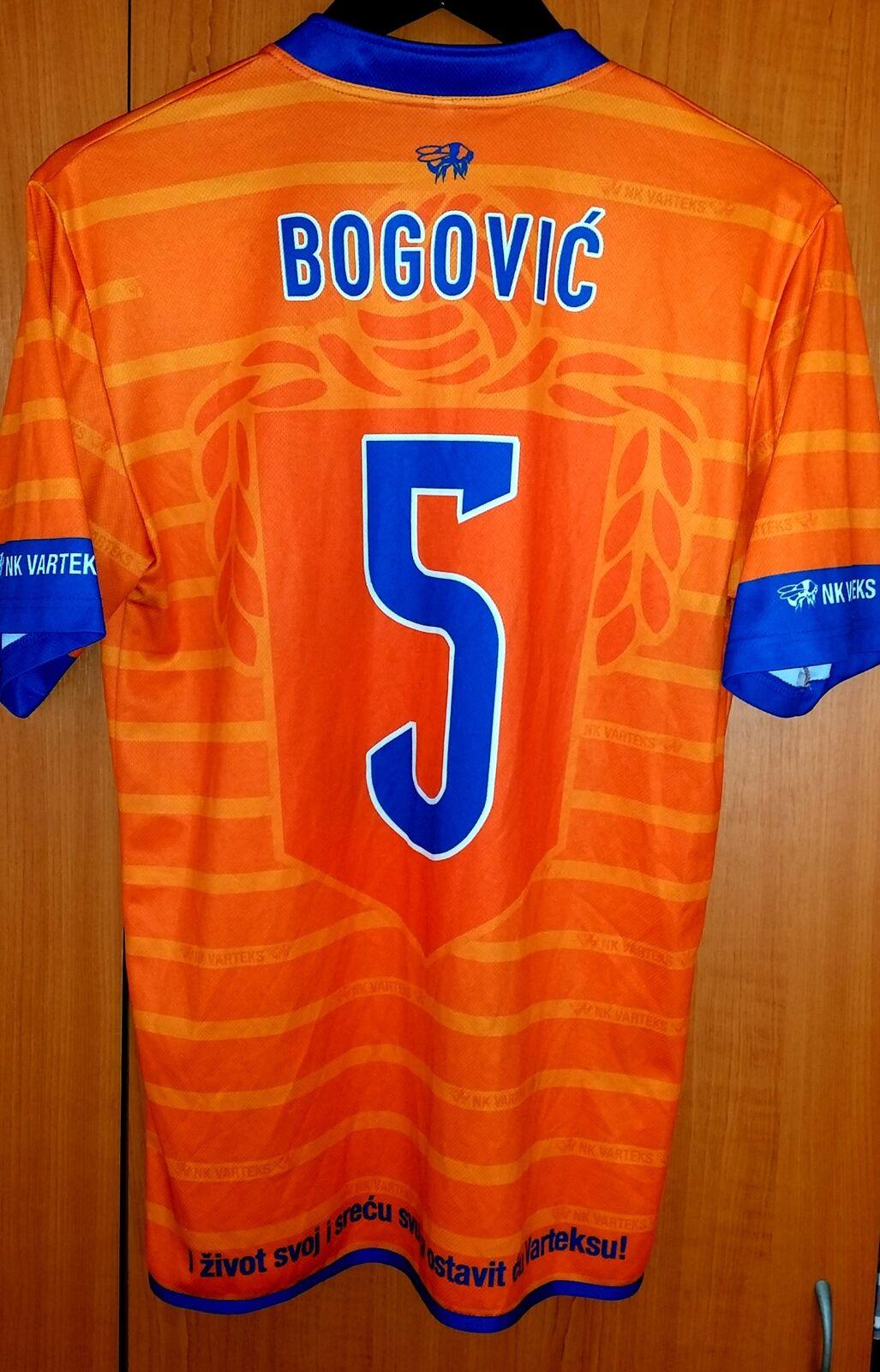 Trikot Fußball Varteks NK Varteks Fußball Varazdin Marko Bogovic 2016 fotex  M Orange daca3b
