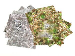 6-034-x6-034-Modular-Flip-Tiles-Barren-Earth-Marsh-RPG-Map-game-mat-dnd-D-amp-D-pathfinder