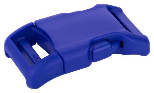 50-1 Inch Royal Blue YKK Contoured Side Release Plastic Buckle