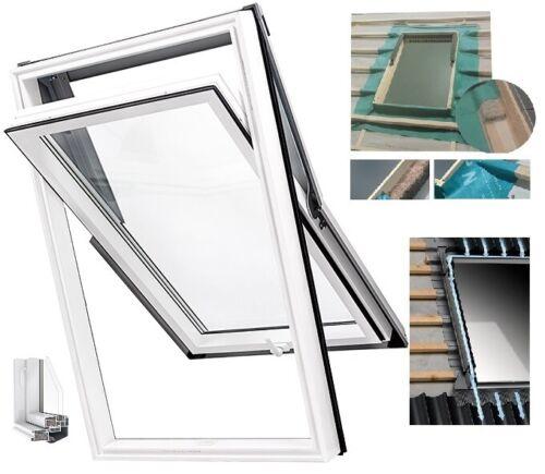 Dachfenster Kunststoff Skylight Hoch-Schwingfenster Klapp-Schwingfenster