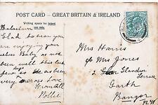 Genealogy Postcard - Family History - Harris - Garth - Bangor   223A