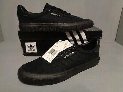 ADIDAS 3MC Core Black Mens Canvas Skate Shoes Sneakers New NIB* Sizes #B22713 | eBay