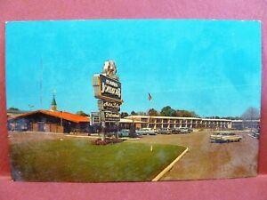 Postcard LA Baton Rouge Howard Johnson's Motor Lodge | eBay