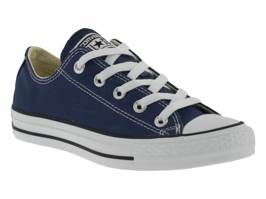 le scarpe basse blu marca converse
