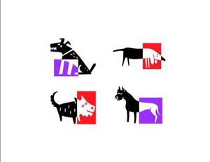 Abstract-Dogs-Custom-Notecards-5-Pack-Blank-by-Gifted-Pet-Creations