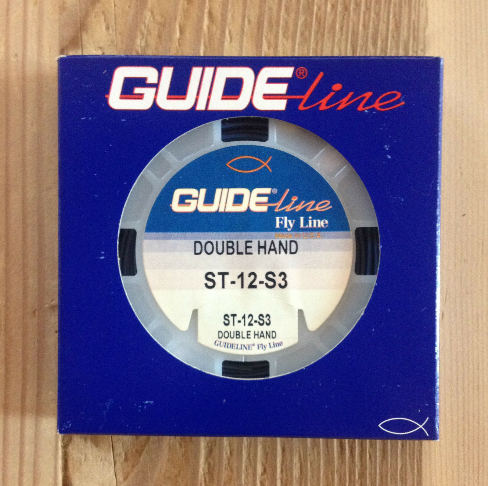 Guideline shooting Tapers double hand fast sink 3, 43ft, dark bluee ST- 12- S3