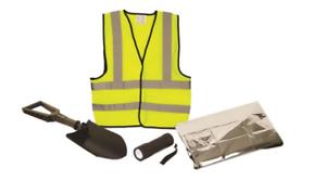 AA Coche Essentials de invierno Car Kit de supervivencia con plegable Pala de nieve