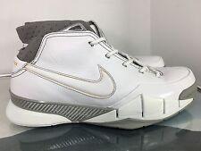 Nike Zoom KOBE 1 GREAT WHITE SHARK I WOLF GREY CANYON GOLD 313143-111 Size 11.5