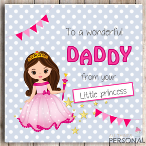 father s day card dad daddy father fathers day birthday daughter