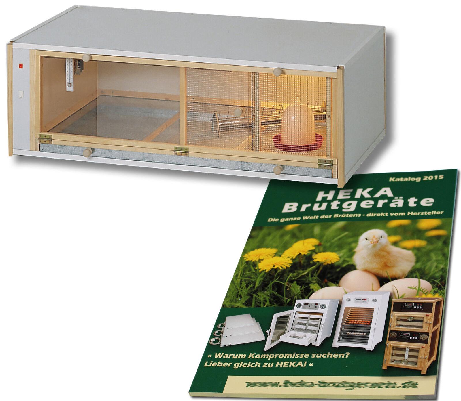 Hekaaufzuchtbox in legno, 120x60x39cm, per  8090 pulcini @ @ @heka  1x art. 4002c