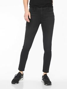 Wash Petite New 4 P Carbon Denim Athleta Sculptek Skinny Bukser Jeans Sort PqaaOE