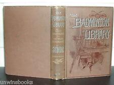 SHOOTING: Lord Walsingham BADMINTON LIBRARY 1893 MOOR MARSH Grouse DEER Wildfowl
