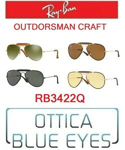 9fccc621e Image is loading Sunglasses-Ray-Ban-rb3422q-Outdoorsman-Craft-sunglasses-ray -