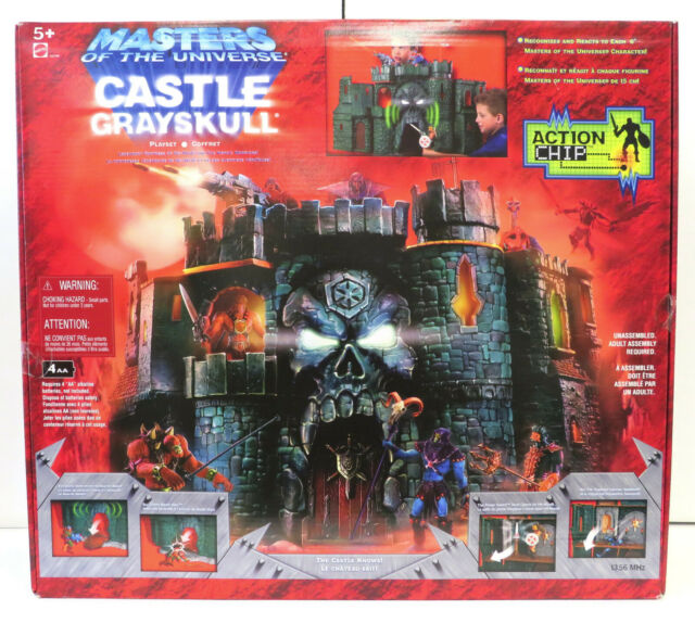 Masters of the Universe: Castle Grayskull Playset (2002) Mattel New Action Chip