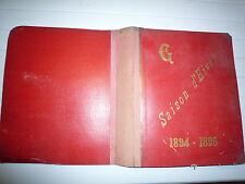 1894 - 1895 SAISON D'HIVER 411 ECHANTILLONS LAINAGES DRAPERIES NOUVEAUTES