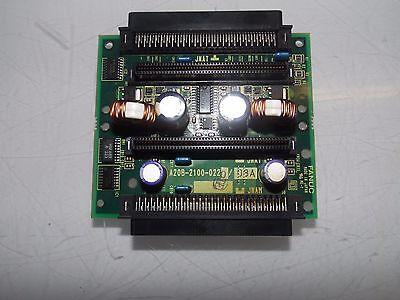 Warranty Fanuc Memory Card Adapter Used A20B-2000-0600//03A