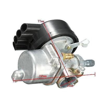 Carburetor Handlebar Throttle Grips Kit For 49 66 80cc Motorized Bicycle Bike