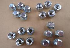 "20 NEW LUG NUTS, 7/16""-20 -FOR GM CARS BEL AIR NOVA CHEVY II BUICK &TRUCK 46-87A"