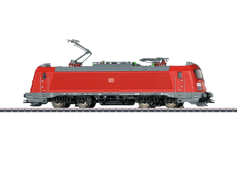 36202 Locomotiva Elettrica Skoda Br 102 003-1 Db Ag Ep.vi Mfx + Sound