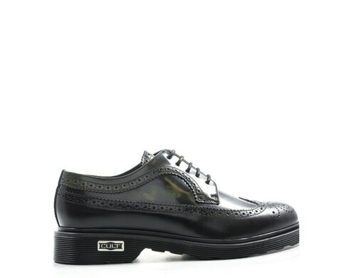 Schuhe CULT Mann NERO Brogue,Naturleder CLE103200