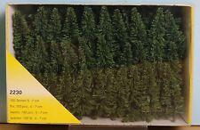 Heki 2230, Spur Z / N / TT / H0, 100 Steck-Tannen / firs / sapins/  5-7 cm