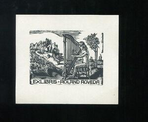 EXLIBRIS,184b Hans Hauke Nixen