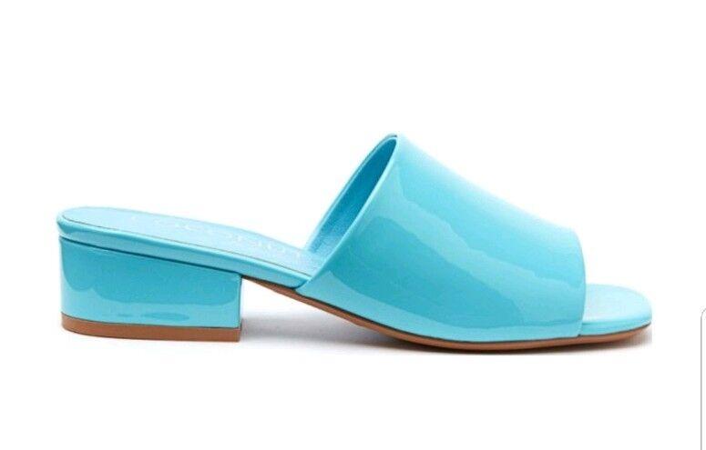 Coconuts By Matisse Femme Plantain Sandale Mule Chaussure Bleu Verni 8 m US.
