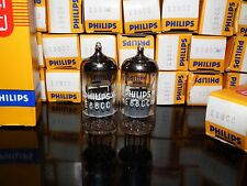 E88CC 6922 NOS NIB Matched Pair Philips Heerlen Holland Premium ECC88 6DJ8