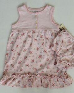970d1c8ab Polo Ralph Lauren Baby Girl Dress Bloomer Set Floral Size 6 Months ...
