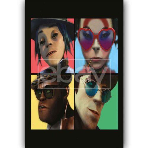 New We Got The Power Gorillaz Feat Jehnny Beth Silk Poster Custom Wall Decor
