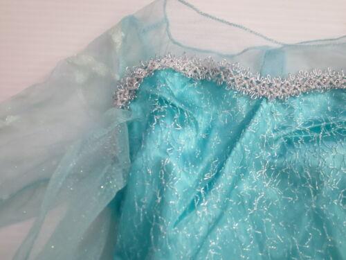 7-8 Details about  /Disney Frozen Elsa Child Costume M - NEW