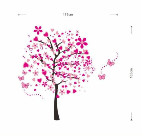 US STOCK Wall Sticker Blossom Tree Lobby Living Room Bedroom Decal removable Pin