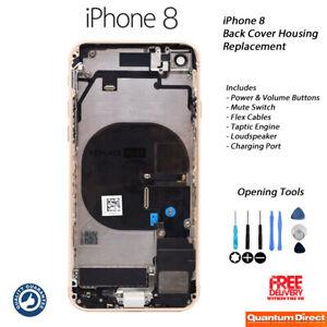 Neuf-IPHONE-8-Entierement-Assemble-Coque-Boitier-avec-Tout-Pieces-Dore
