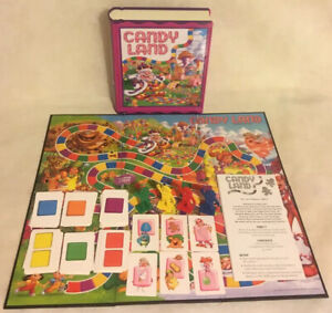 CandyLand-Board-Game-USA-Collectible-Book-Package-2006-MB-MiltonBradley-Complete