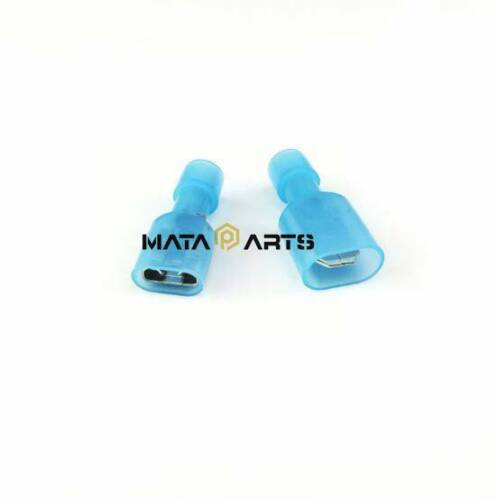 50pcs Electrical Crimp Nylon terminals 16-14AWG Insulated Wire Cable Connector