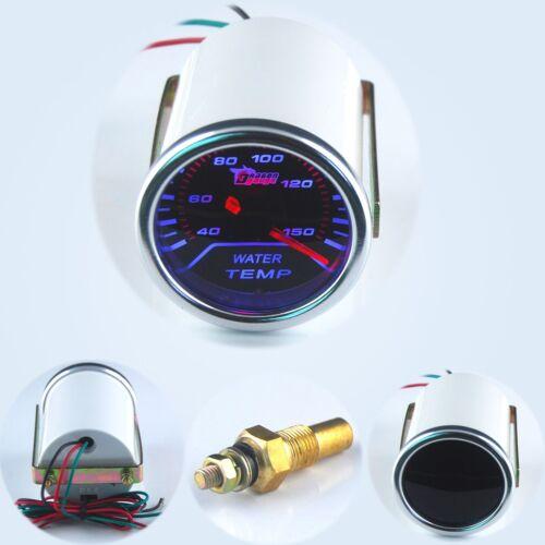"52mm 2/"" Smoke Lens Pointer Water Temperature Temp Gauge //Auto meter//Auto gauge//"