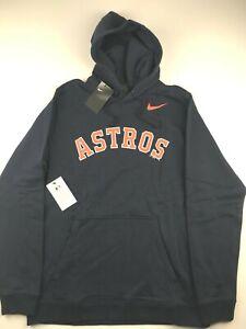 Nike-MLB-Houston-Astros-Mens-XL-Navy-Blue-Franchise-Fleece-Hoodie-Sweatshirt