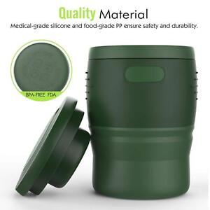 Mug Foldable Travel Cup Collapsible Reusable Tea Leakproof Details About Moko 350ml CshQrdt