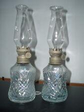 Lamplight Farms | Miniature Glass Oil Lamp & Globe Made in AUSTRIA | 1986