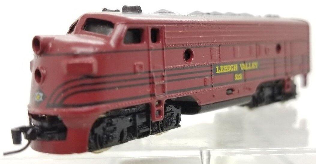 MTL Z 14005-2 F7 Powerojo una unidad-Lehigh Valley Locomotora   512 (probados) C cc