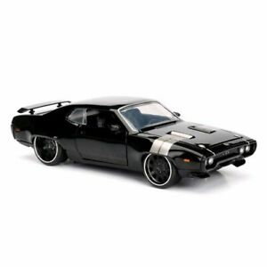 Jada Toys Fast and Furious 8 Dom's '72 Plymouth GTX 1:24 Scale Hollywood Ride