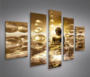 buddha v2 mf bild auf leinwand bilder kunstdruck wandbild poster ebay. Black Bedroom Furniture Sets. Home Design Ideas