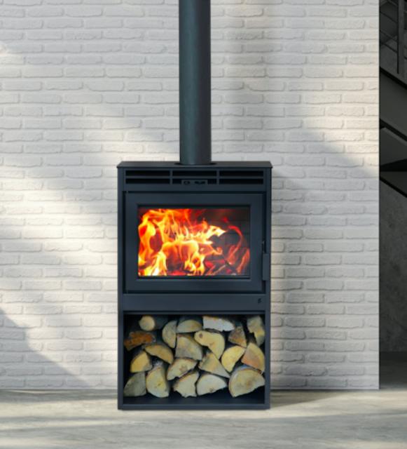 Supreme Novo 18 Wood Burning Free Standing Stove Fireplace With Premium Blower Ebay