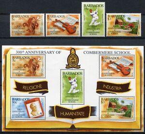 Barbade 1995 école Scout Musique Cricket 880-883 Bloc 31 Cachet Neuf Sans Charnière-afficher Le Titre D'origine Artisanat D'Art