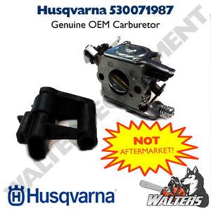 Genuine Husqvarna Carburetor 530071987 | 136, 137, 142 | W ...